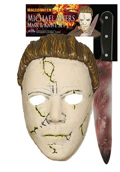 Michael Myers Mask & Knife Set (Rob Zombie)